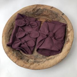 Bundle of Love Wrap - April Collection - Aubergine