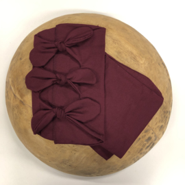 Bundle of Love Wrap & BOW option - Bordeaux