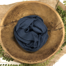 Organic Cotton Collection - Layer / Wrap -   blue