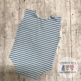Romper - Mint Stripes - Size 80