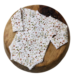 Newborn Romper - Flower Collection - Romantic Lace