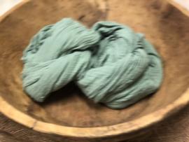 Organic Cotton Collection - Layer / Wrap -   dark mint