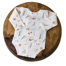 Newborn Romper - Flower Collection - BOHO