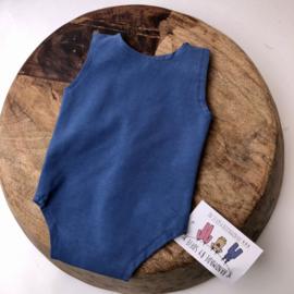 Newborn Romper  -  blue