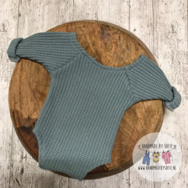 Romper Knitted - Mint