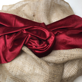 Wrap/ Layer - Velvet Collection - Red