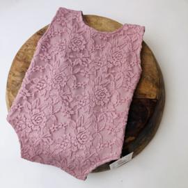 Romper - Rose Lace - Size 80