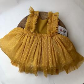 Sitter Dress - Oker - Size 74