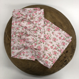 Bundle of Love Wrap & BOW option - FLOWER rose