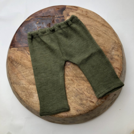 Newborn - Luxery Collection Pants - moss green
