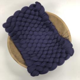 Bump Blanket - aubergine -  RTS