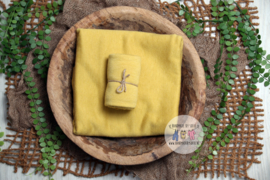 Luxury Collection - Stretch Wrap  - Mustard