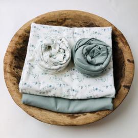 Flower Collection - Stretch Wrap - Mini eucalyptus