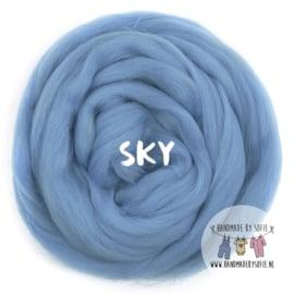 Round Blanket - SKY  - Pre Order (2 - 6 weeks )