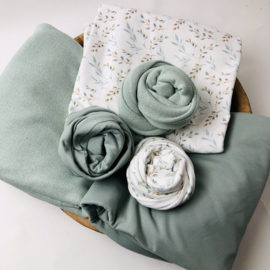 Flower Collection - Stretch Wrap - Willow