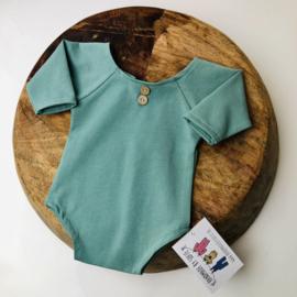 Newborn Romper  - mint