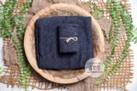 Luxury Collection - Stretch Wrap - Dark Blue