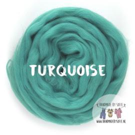 Round Blanket - TURQUOISE  - Pre Order (2 - 6 weeks )