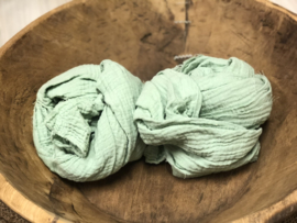 Organic Cotton Collection - Layer / Wrap -   mint