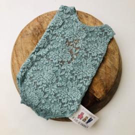Romper - Mint Lace - Size 74