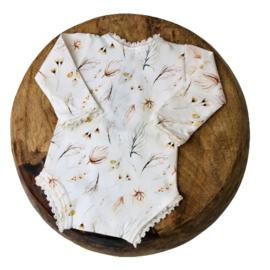 Newborn Romper - Flower Collection - BOHO Lace