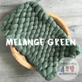 Bump Blanket - Melange Green - RTS