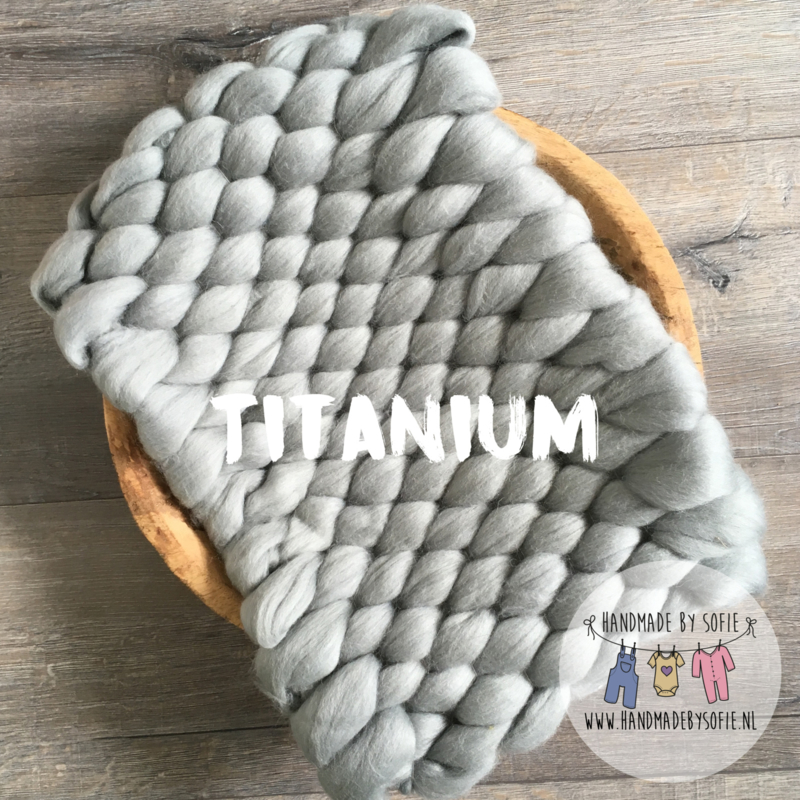 Bump Blanket - Titanium - RTS