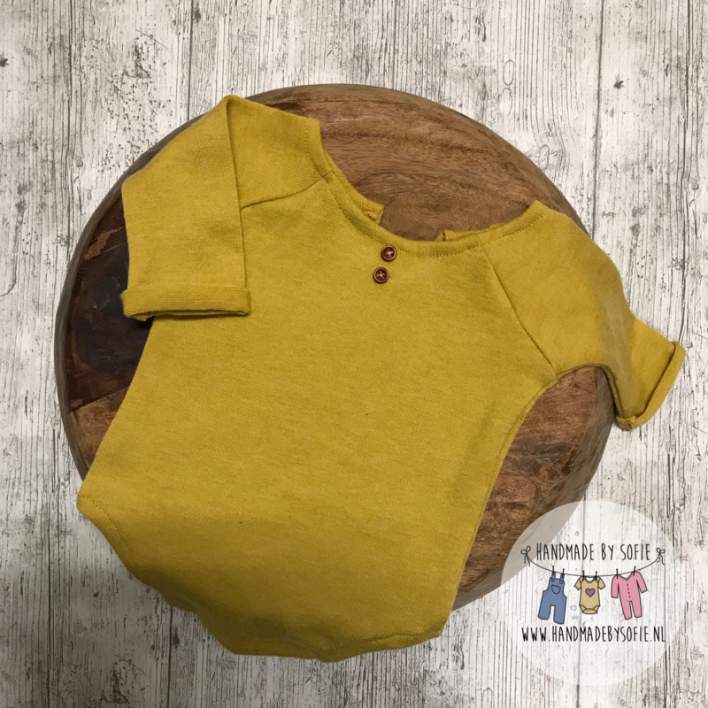 Romper Luxury Collection 2-Way - Mustard  - Size 74