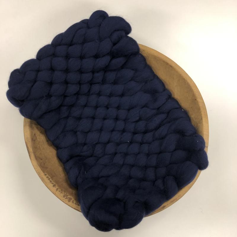 Bump Blanket - dark blue -  RTS