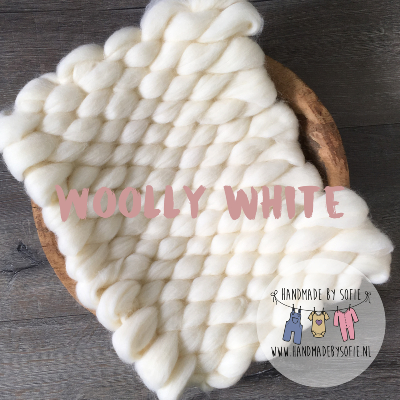 Bump Blanket - Woolly White - RTS