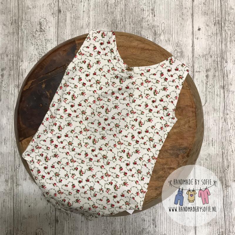Romper Flower - offwhite - Size 74