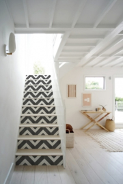 Stair stickers ZIGZAG
