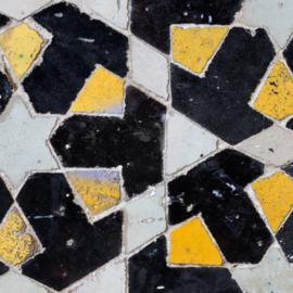 Trapstickers MOSAIC black/yellow
