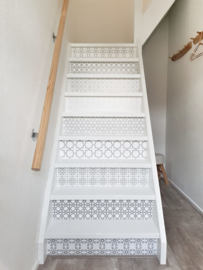 Stairs stickers MULTI grey