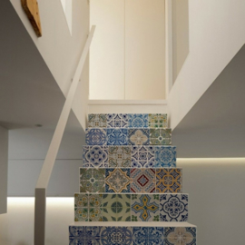 Stair stickers TILE MIX