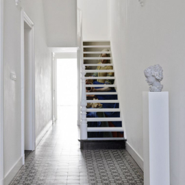 Stair sticker MILKMAID