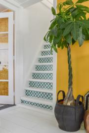Stair sticker MOSAIC green