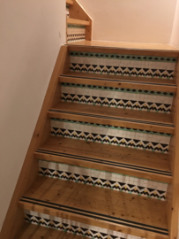 Stair sticker MOSAIC small