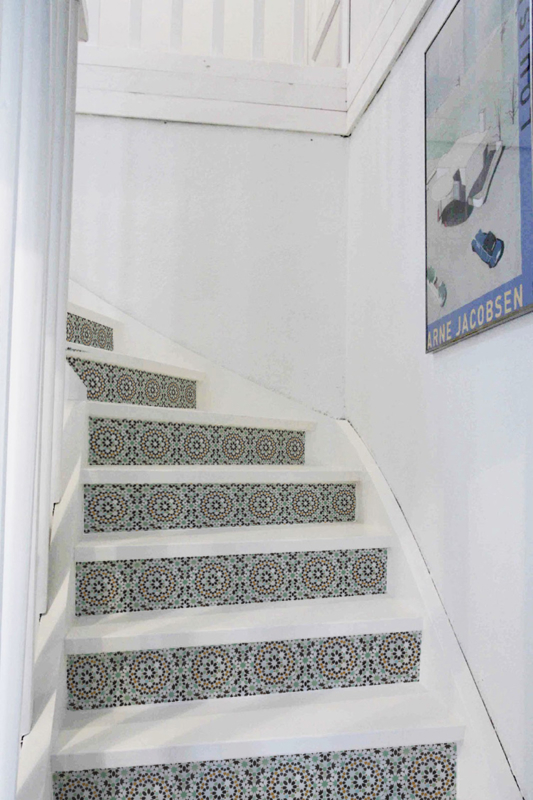 Stair Sticker OCRE GREEN