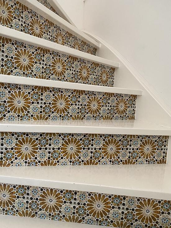 stairs sticker praque