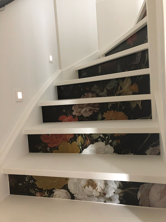 masterpiece stairs sticker
