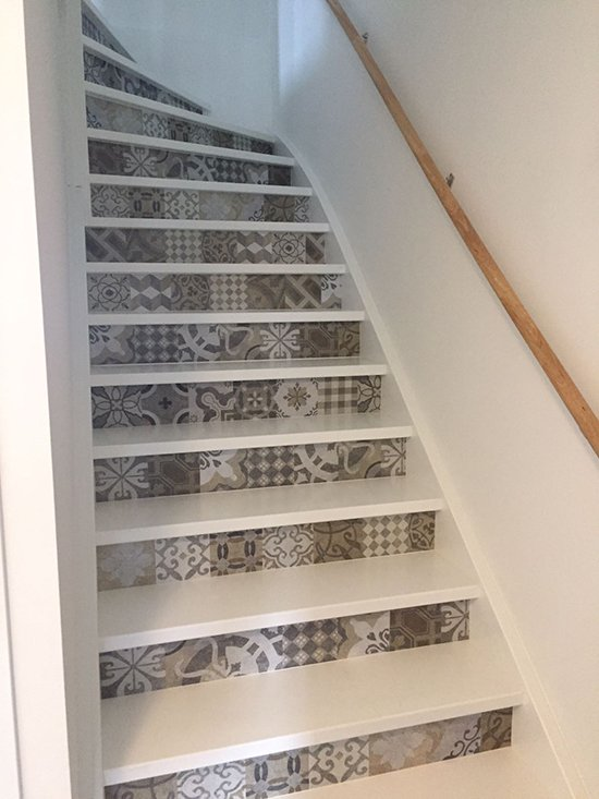 stairs stickers happy customer