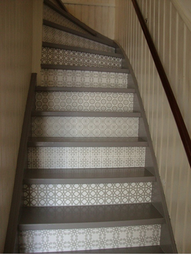 happy customer stairs stickers multi grey