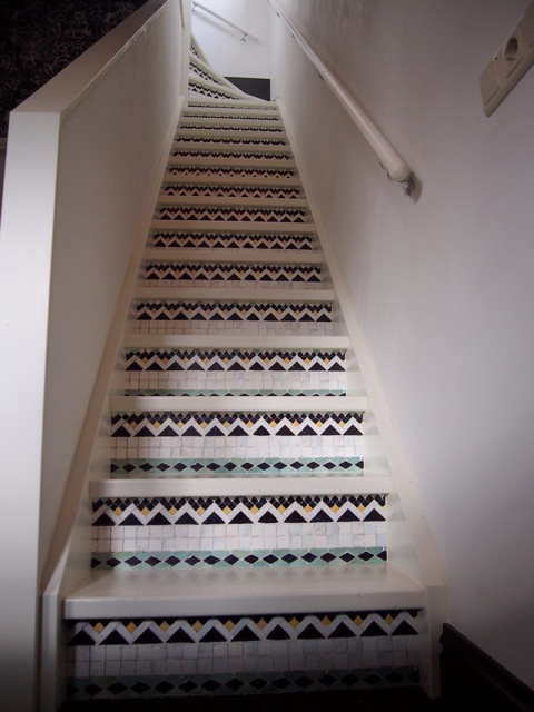 stairs sticker diy mosaic small