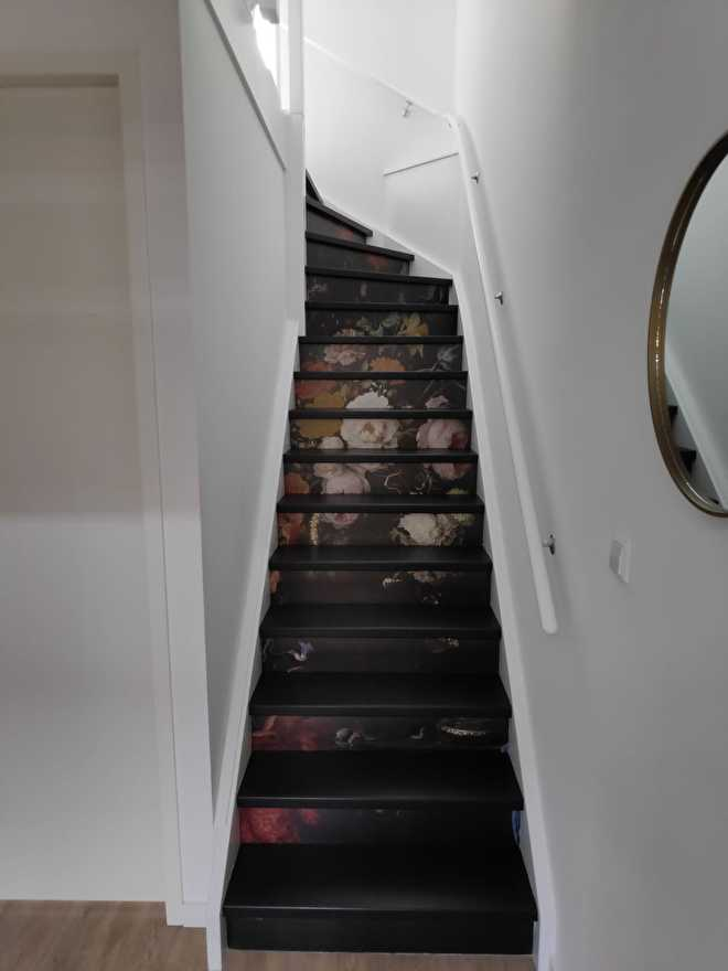 stairs stickers masterpiece customer