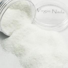 """Virgin Nails Glitter Fine """"White"""""""
