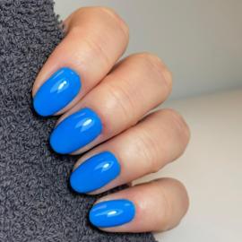 "Virgin Nails Gelpolish  ""Jelly Belly Blue"""