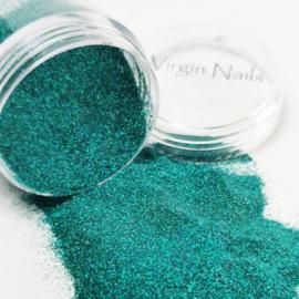 "Virgin Nails Glitter Fine ""Turquoise"""