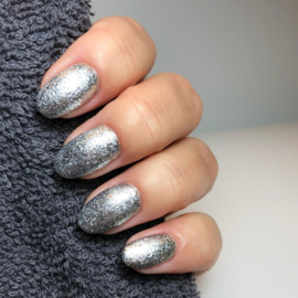 "Virgin Nails Diamond Gel ""Silver"""