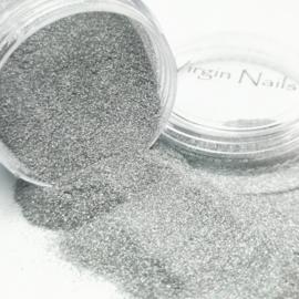 "Virgin Nails Glitter Fine ""Grey"""